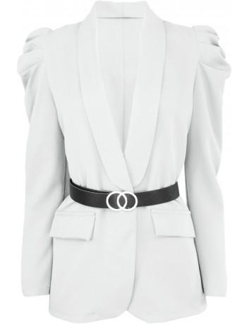 Dámské sako s nabíranými rukávy 42907